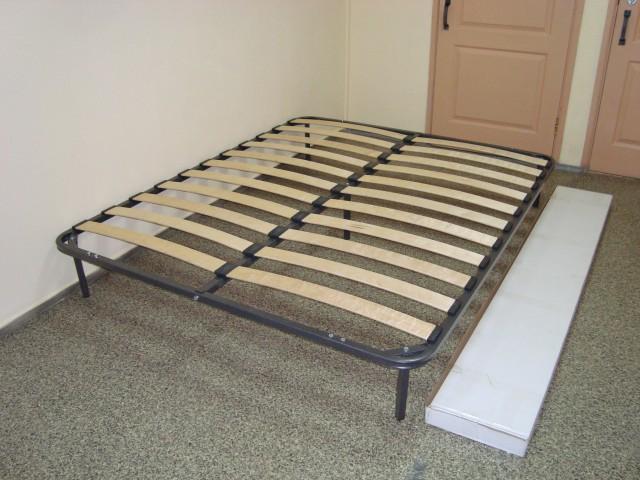 Основание кроватное металлическое разборное